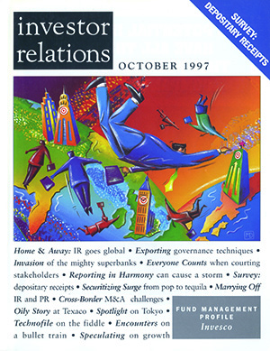IR Magazine October 1997: IR goes global