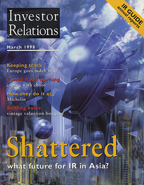 IR Magazine March 1998: Shattered