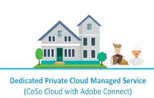 Dedicated private cloud managed service