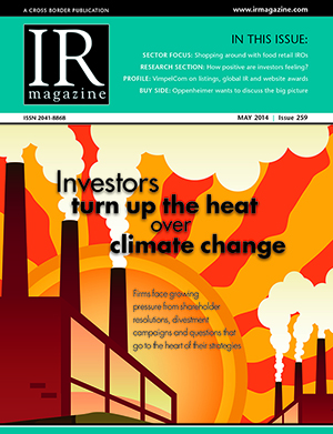 Investors turn up the heat over climate change