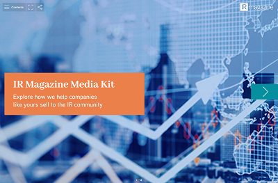 IR Magazine Media Kit