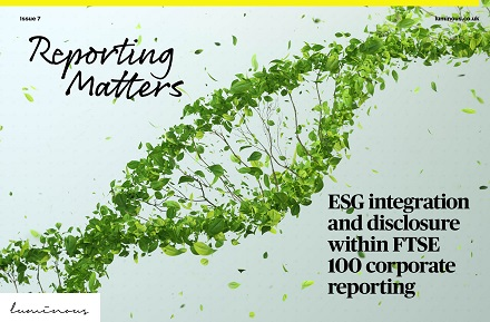 ESG integration and disclosure in the FTSE 100