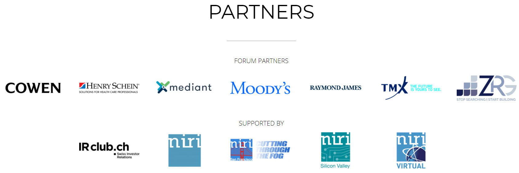 IR Magazine Forum Partners