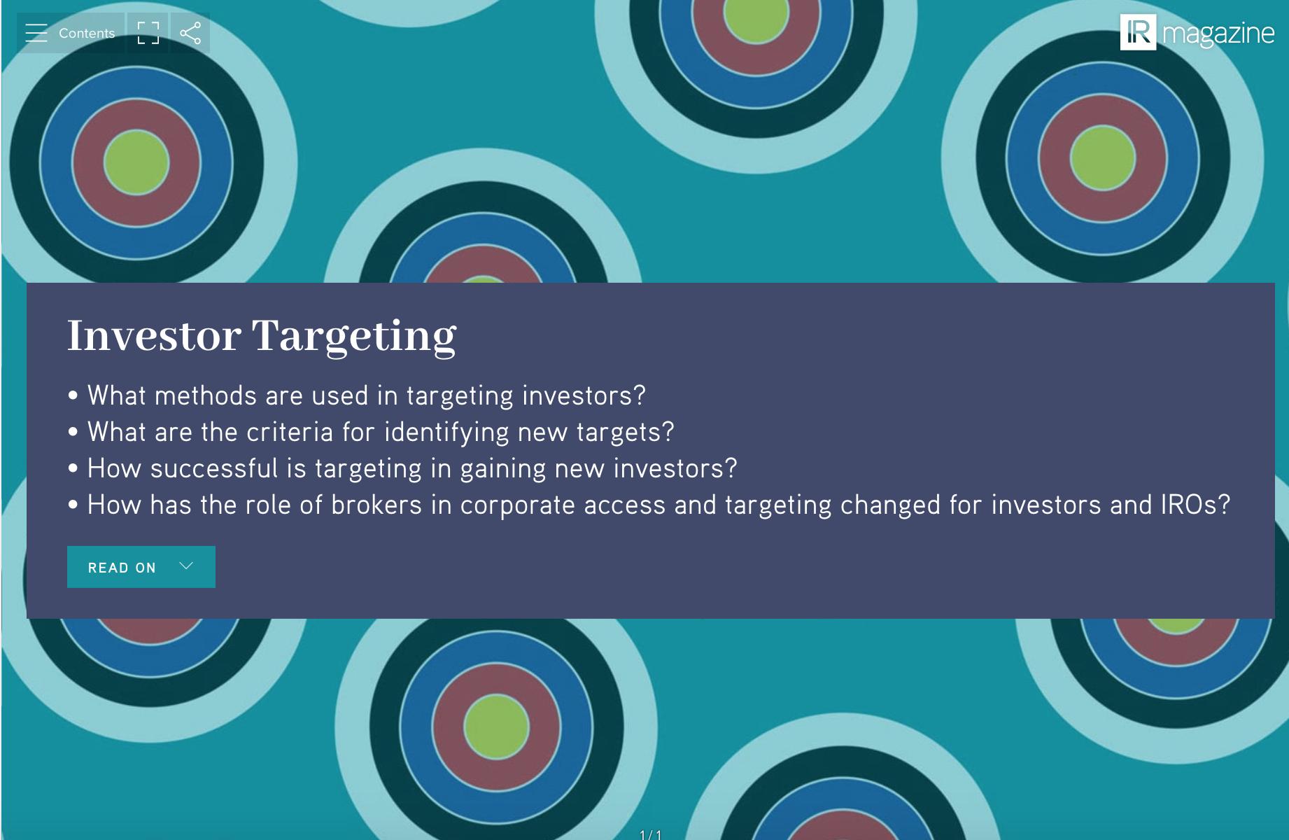 Investor Targeting