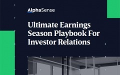 Ultimate earnings season playbook for investor relations