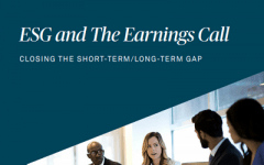 ESG and the earnings call: Closing the short-term/long-term gap
