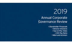 2019 Annual Corporate Governance Review