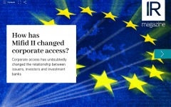 How has Mifid II changed corporate access?