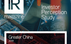 Investor Perception Study – Greater China 2019