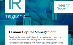 Human Capital Management report