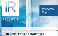 IR objectives and challenges report