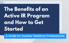 The benefits of an active IR program and how to get started