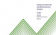 Driving 21st-century IR with market structure analytics