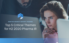 Pharma report: Top 5 critical themes for H2 2020 pharma IR