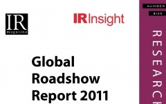 Global Roadshow Report 2011