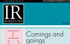 Research section: Comings and goings in IR