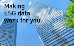 Making ESG data work for you