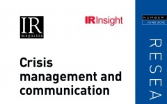 Crisis management and communication research report
