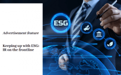 Keeping up with ESG: IR on the frontline