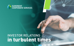 Investor relations in turbulent times