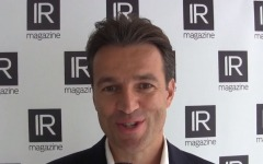 IR Magazine Global Forum 2017: Achim Weik