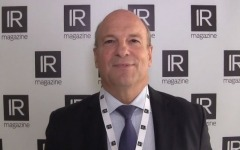 IR Magazine Global Forum 2017: Chris Hollis