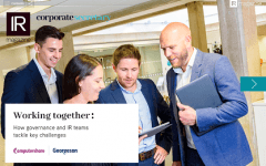 Working together: How governance and IR teams tackle key challenges