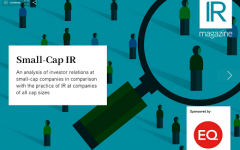 Small-Cap IR report now available