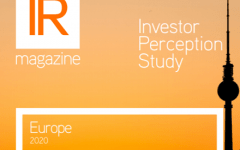 Investor Perception Study – Europe 2020 – available now