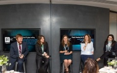 Women in IR panel debates gender targets