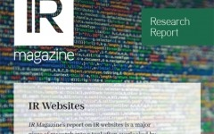 IR Websites report now available