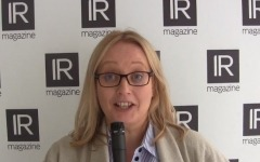 IR Magazine Global Forum 2017: Kirsty Collins