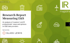 Measuring E&S report now available