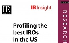 Profiling the best IROs in the US