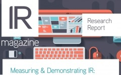 Research report: Measuring & Demonstrating IR: Part II – Senior management
