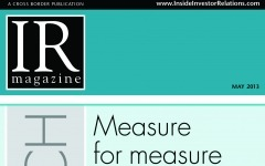 Research Section: Measuring IR