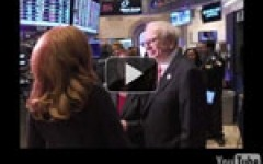 Slideshow: Warren Buffett at the NYSE for Business Wire's 50th anniversary