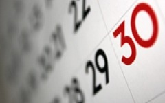 Five steps to creating an IR calendar