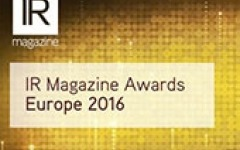 Video: Highlights from the IR Magazine Awards – Europe 2016