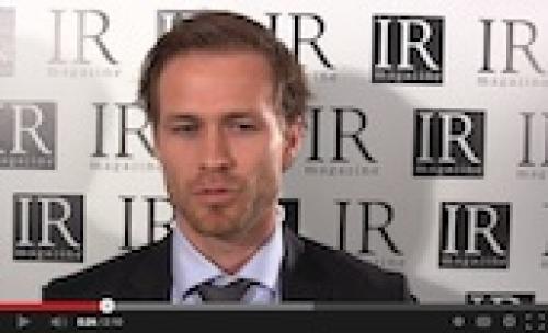 Novo Nordisk's Lars Borup Jacobsen talks about the firm's IR plans