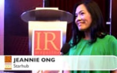 StarHub's Jeannie Ong on key IR skills
