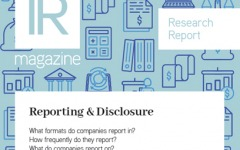 Reporting and disclosure report
