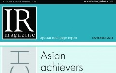 Research Section: Asian IR achievers