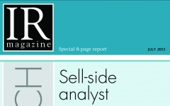Research Section: Sell-side analyst coverage