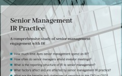 Senior Management IR Practice