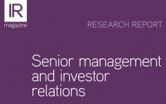 Research report: Senior Management and investor relations
