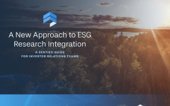A new approach to ESG integration for investor relations teams guide