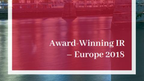 Award Winning IR - Europe 2018