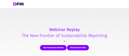 The new frontier is sustainability reporting: are you ready for climate risk disclosure, TCFD and SASB?