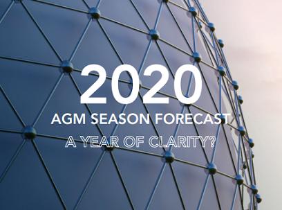2020 AGM Season Forecast